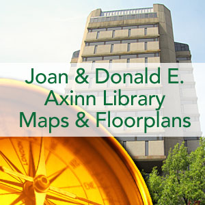 Joan & Donald E. Axinn Library: Maps and Floorplans