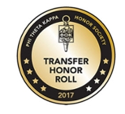 Phi Theta Kappa Transfer Honor Roll Badge