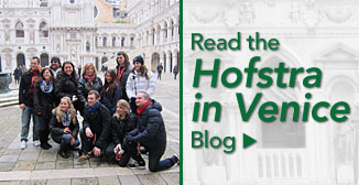 Read the Hofstra in Venice Blog