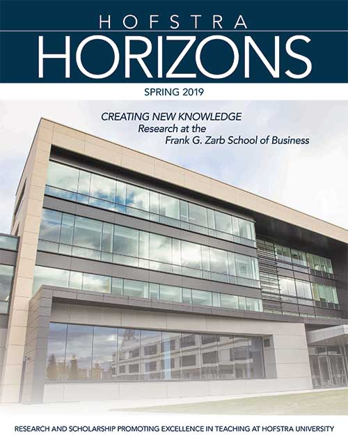 Current Hofstra Horizons Cover
