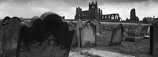 Whitby Abbey, the place that inspired Bram Stoker to write Dracula.