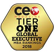 CEO Magazine: Tier One Global Executive MBA Rankings 2018