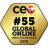 CEO Magazine: #55 Global Online MBA Rankings 2018