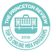 The Princeton Review 2018 Top 25 Online MBA Programs
