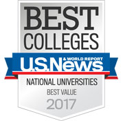 Best Colleges US News, Best Value 2017
