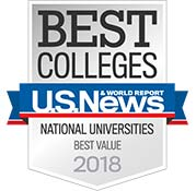 Best Colleges US News, Best Value 2018