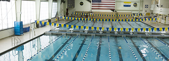 Swim center campus hofstra new york for University of york swimming pool