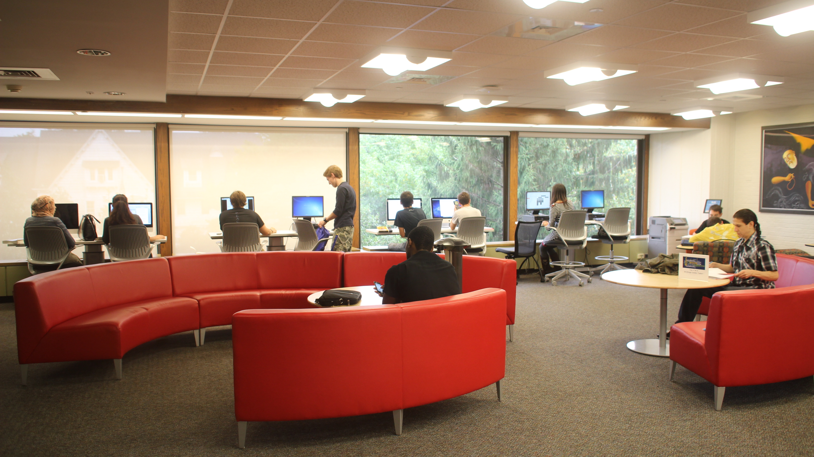 Axinn Library, Collaborative Learning Center