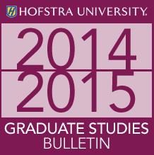 2014-2015 Graduate Studies Bulletin