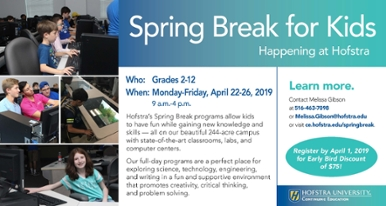 Spring Break Programs