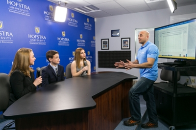 Hofstra SPorts Journalism Video Studio /