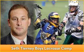 Seth Tierney Boys Lacrosse Camp