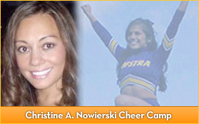 Christine A. Nowierski Cheer Camp
