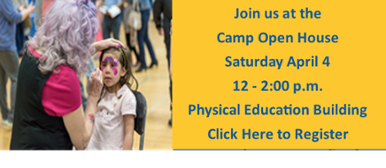 Camp Open House RSVP