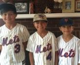 Nolan, Ryan and Gavin Shea at Hofstra Baseball Camp
