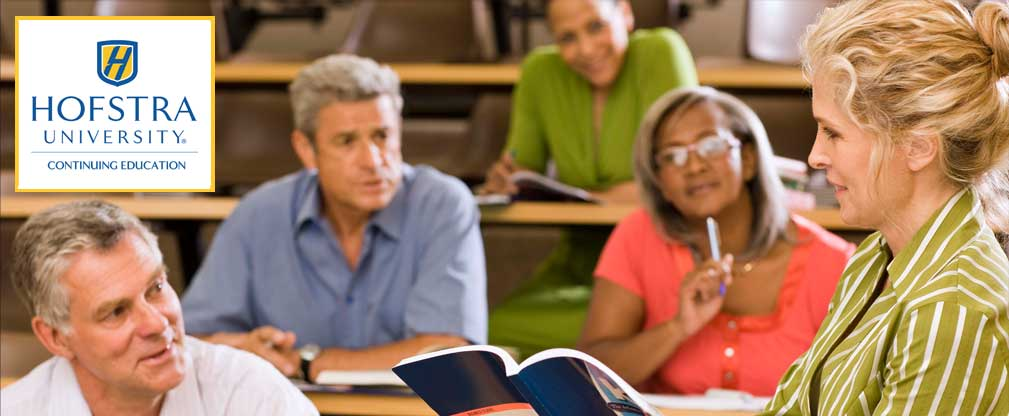 Hofstra University Continuing Education - teacher leading adult class