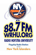 WRHU is the flagship station of the NY Islanders