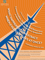 Communication, Technology and Democracy: A Hofstra 75th Anniversary Symposium