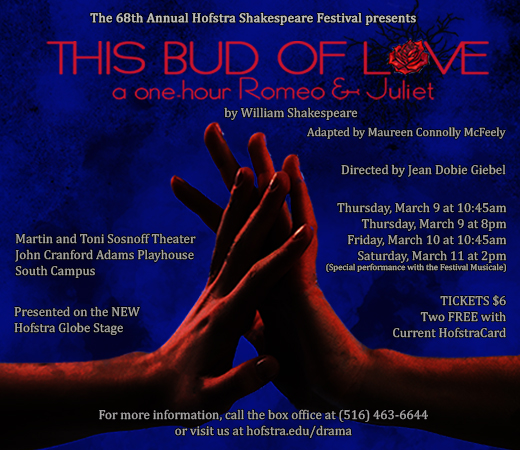 This Bud of Love – A One Hour Romeo and Juliet