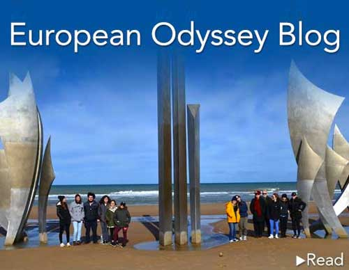 European Odyssey Blog - Read