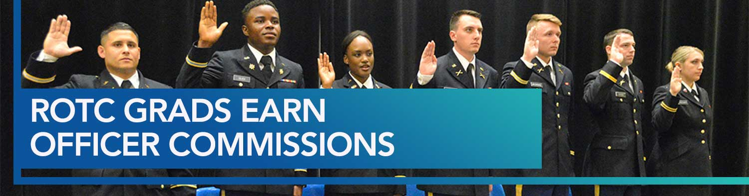 ROTC Grads Earn Officer Commissions