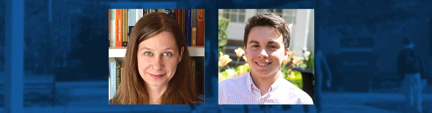 Student and Professor Celebrate Fulbright Awards