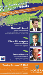 Nassau County Executive Campaign Debate