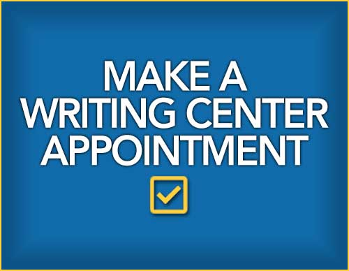 Make a Writing Center Appointment