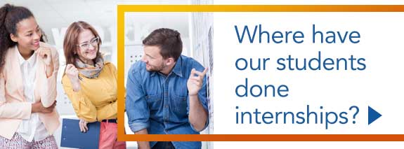 Where have our students done internships? - Download PDF