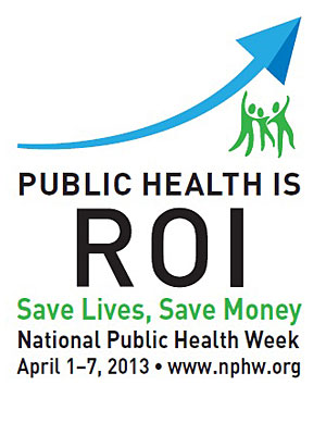 National Public Health Week ROI
