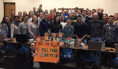 Hofstra PA Student Thanksgiving Food Drive 2016