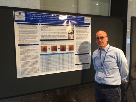 Hofstra Graduate at American Professional Wound Care Conference