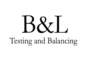 B&L Testing and Balancing logo