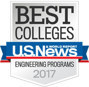 Best Colleges US News, Engineering Programs 2017