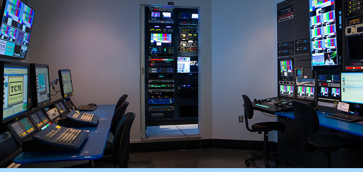 studios, control room, facilities, journalism, rtvf