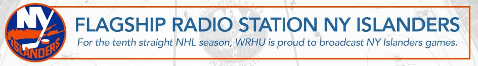 For the ninth straight NHL season, WRHU is proud to broadcast NY Islanders games.