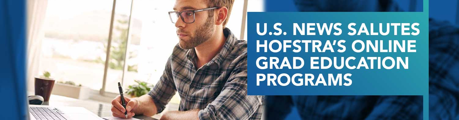 U.S. News Salutes Hofstra's Online Grad Education Programs