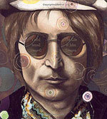 John Lennon book cover