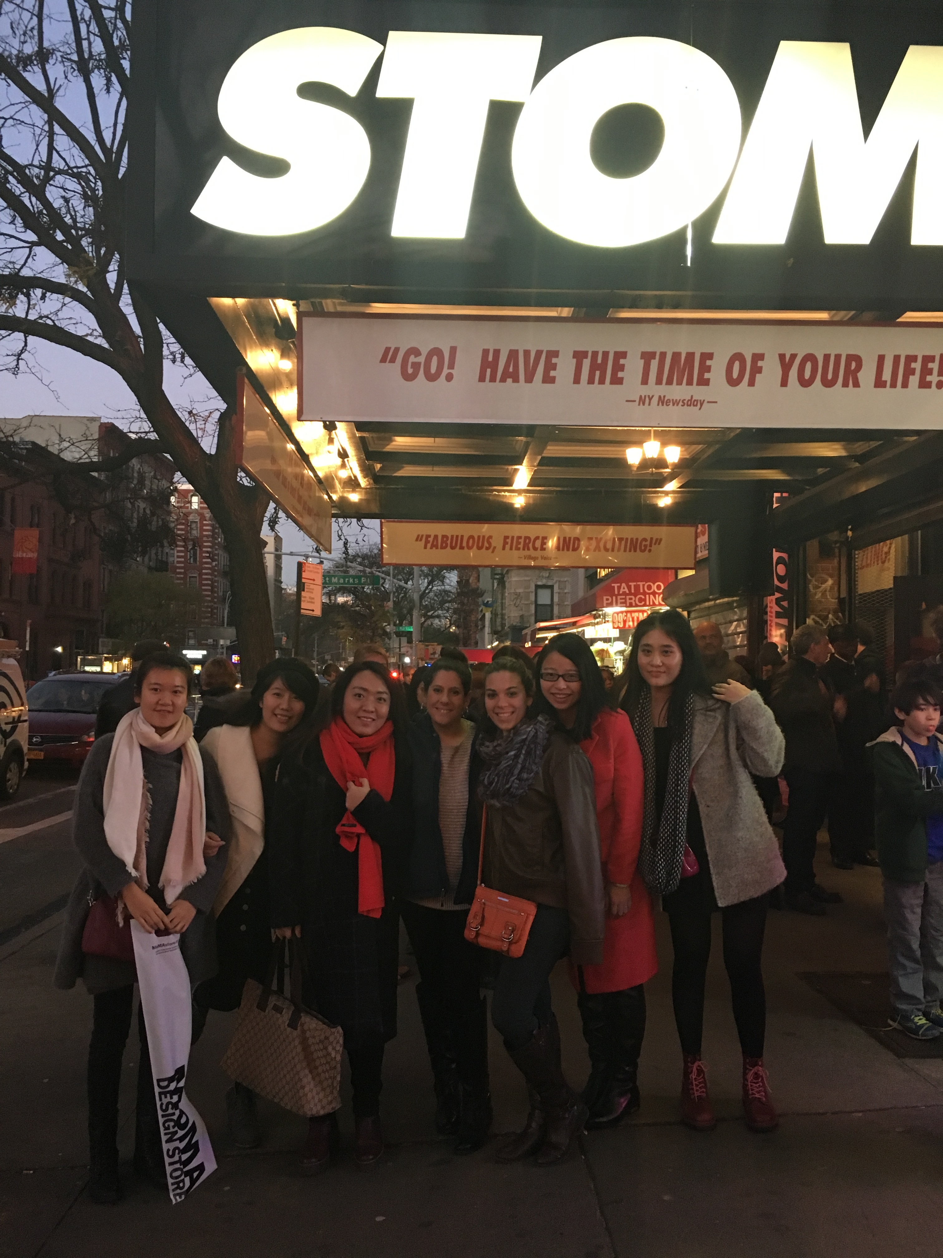 International TESOL Club visits NYC