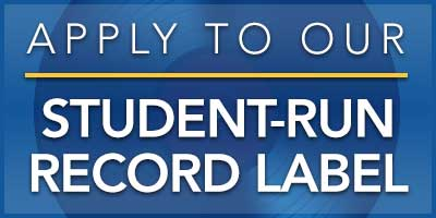 Apply to Our Student-Run Record Label