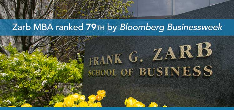 Zarb MBA ranked 79th by Bloomberg Businessweek