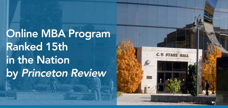 Online MBA Program Ranked 15 in the Nation by Princeton Review