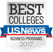 2017 US News Best Colleges, Business Programs 2017