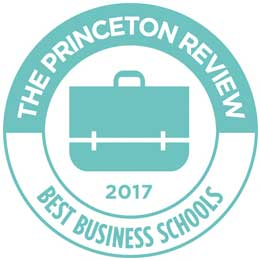 A Princeton Review Best 296 Business School