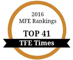 2016 MSE Ranking Top 41 TFE Times