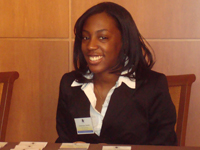 10. National Association of Black Accountants student Saudia Thomas