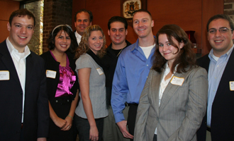 Participants in the Long Island Real Estate Group Internship Program