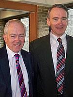 Sir David Tweedie and Henry Keizer