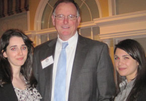 Dr. James Neelankavil, the Robert E. Brockway '46 Endowed Distinguished Professor in Marketing