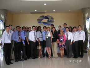 Executive M.B.A. students in China
